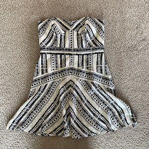 Twelfth St. Cynthia Vincent Silk Strapless Dress